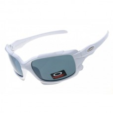 Split Jacket white / gray lens sunglasses