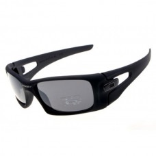 crankcase sunglasses matte black / gray lens