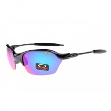 Half X sunglasses polished black / ice iridium