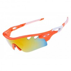 radarLock path sunglasses orange / fire iridium