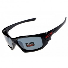 Scalpel sunglasses polished black frame gray lens