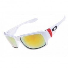 Big Taco sunglasses white / fire iridium