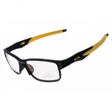 Crosslink sunglasses black yellow / transparent lens