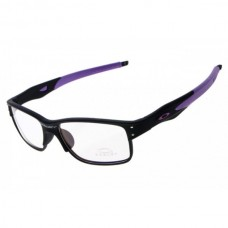 Crosslink sunglasses black purple / transparent lens