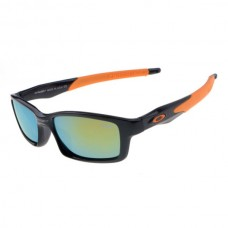 Crosslink sunglass matte black / orange