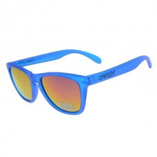 crystal blue frogskins sunglasses