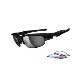 Fast Jacket Polished Black Irid & P42 Sunglasses Newest Style