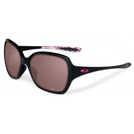 Overtime Breast Cancer Ed Black Grey Polarized Sunglasses