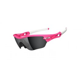 Radar Edge Pink Lava Black Iridium Sunglasses New Style